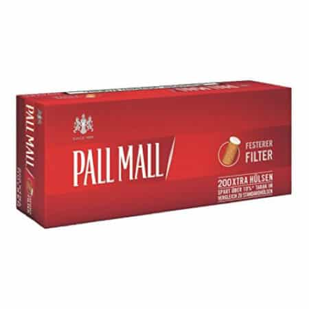 tubes cigarettes pall mall xtra
