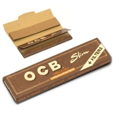 Feuille ocb virgin slim filtre