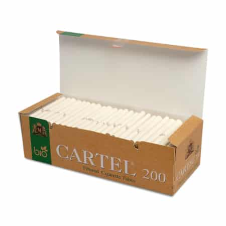 Tube cigarette cartel biodegradable