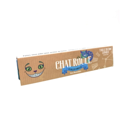 feuille a rouler chat roule non blanchi